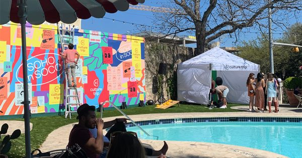 This U.K. Travel Brand Is Making a Splash at SXSW With Its First U.S. Activation