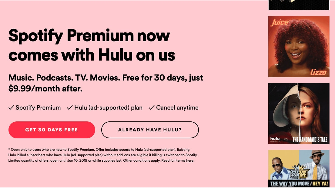 As Hulu's Subscriber Totals Surge, Spotify Premium Added the