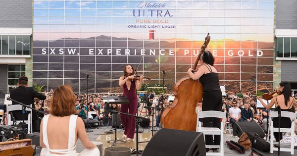 Finding Serenity at SXSW With Michelob Ultra's Sunset Meditation Event