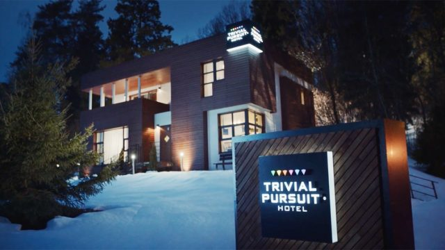At This Trivial Pursuit Hotel, You Pay for Everything by Answering Questions