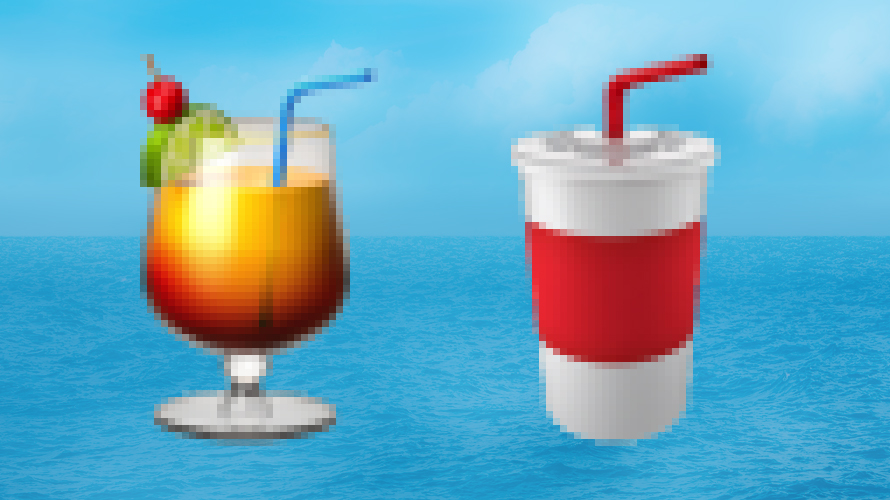 On World Water Day, Bacardi Asks Unicode to Drop All Plastic Straws From Emojis