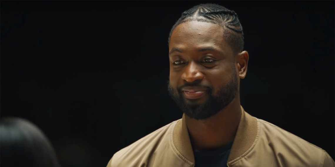 Dwyane Wade's reaction to 5 surprise visitors.