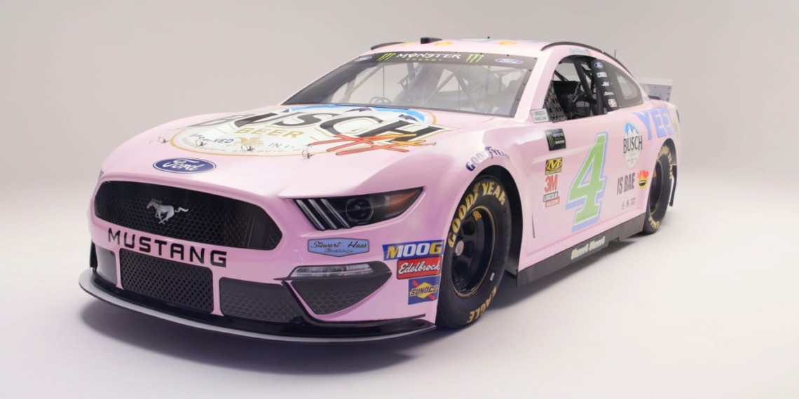 372323c70127b Nascar Fans Chose This Paint Scheme for Kevin Harvick s Ride in the  All-Star Race – Adweek