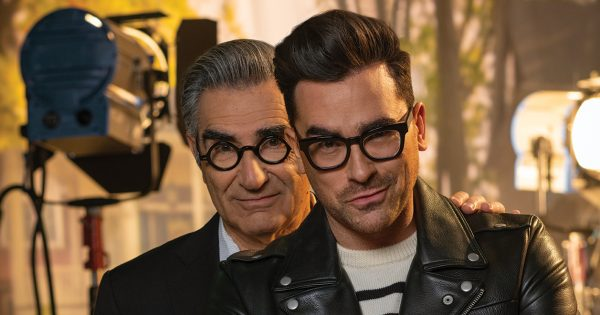 Talking Schitt With Eugene Levy and Daniel Levy, Creators of the Cultishly Adored Pop TV Sitcom