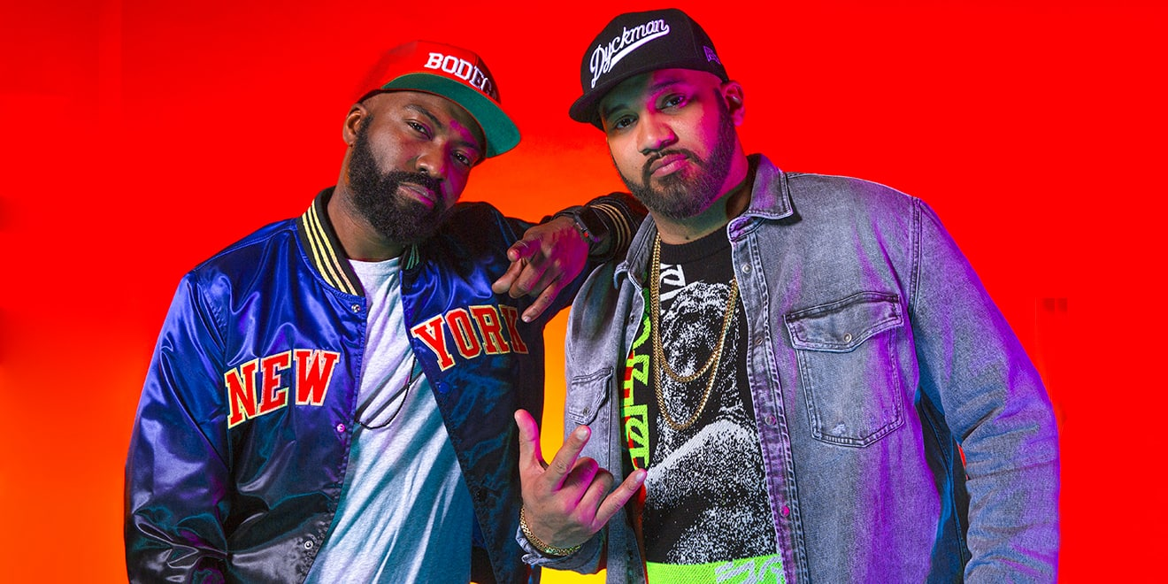 Desus and Mero posing for Adweek