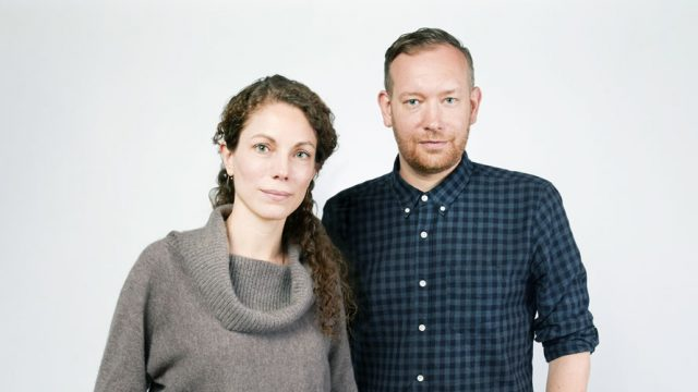 Headshot of Emily Wengert and Emil Lanne for Adweek's Creative 100