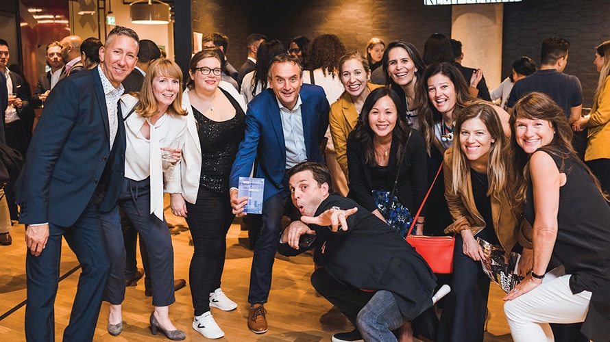 2019 Adweek Toronto Brand Stars honoree Uwe Stueckmann with Loblaw Companies Limited team