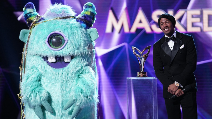 Still from The Masked Singer for a story about Fox