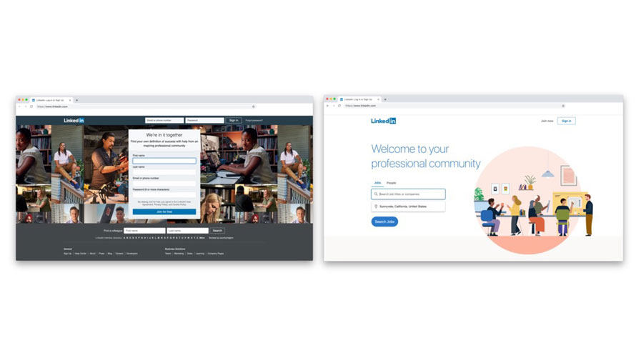 2 Years In The Making Linkedin S Brand Refresh Aims To Make