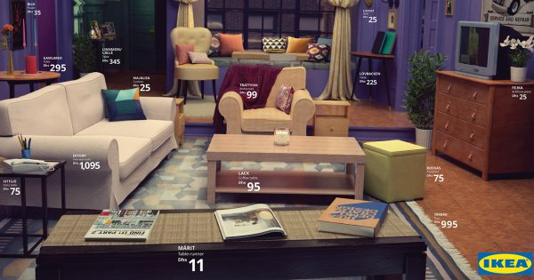 Q&A: How Ikea Recreated Famous TV Living Rooms, Boosting