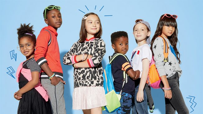 illustration of kids in cool clothes from Rockets of Awesome