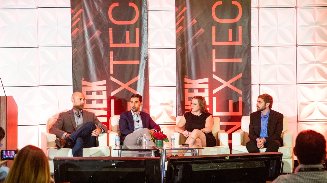 adweek nextech conference stage supply path optimization panel