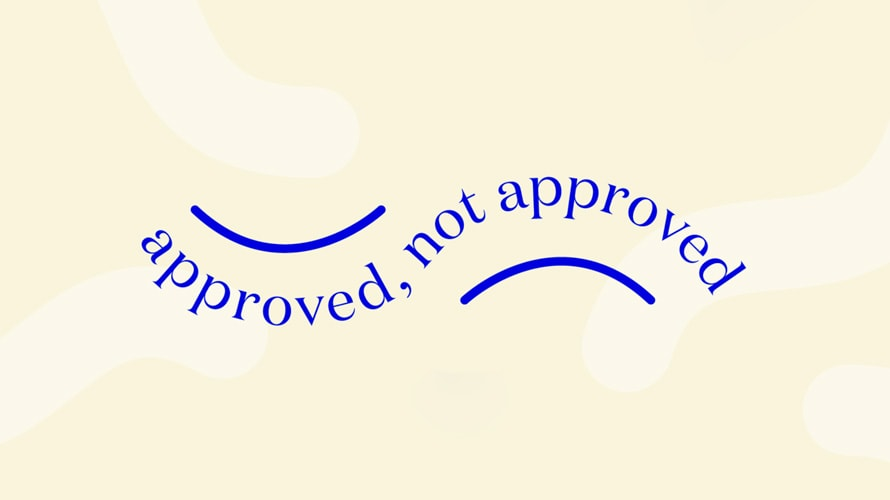 """The """"Approved, Not Approved"""" campaign from Dame and Unbound"""