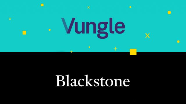 Vungle and Blackstone logos