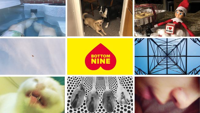 Sample images from Kahlúa's #BottomNine tool