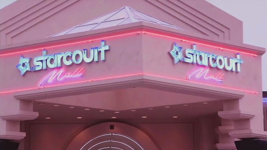 The Starcourt Mall from Stranger Things Season 3.
