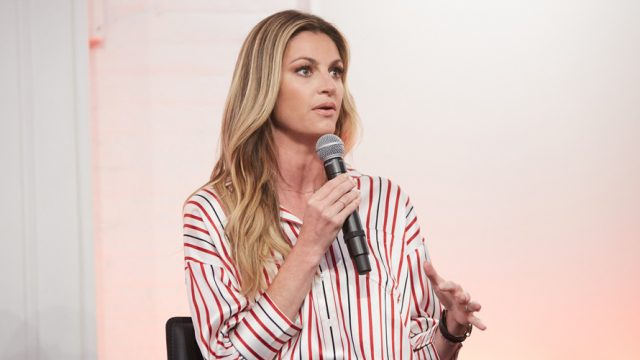 Why Erin Andrews Can't and Won't Comment on the NFL National Anthem Kneeling Controversy