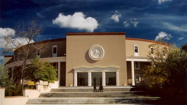 the new mexico state legislature building