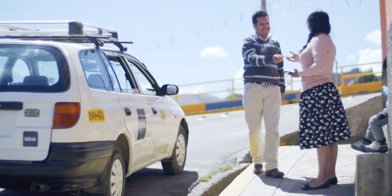 This Bolivian Startup Wants Taxis to Deliver Cash in Areas