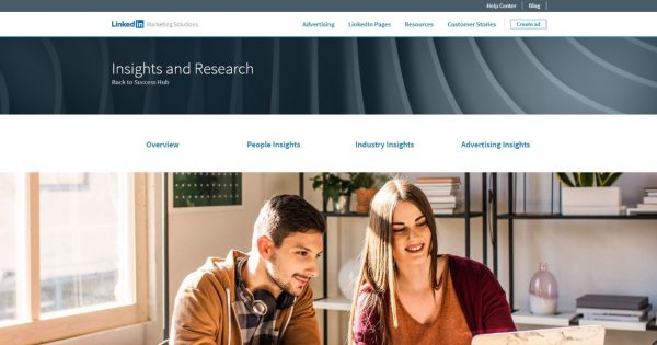 LinkedIn's Marketing Success Hub Now Has an Insights and Research Page