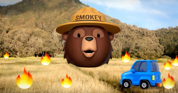 Betty White Lends Her Voice and Facial Expressions to Smokey Bear for Mascot's 75th Birthday