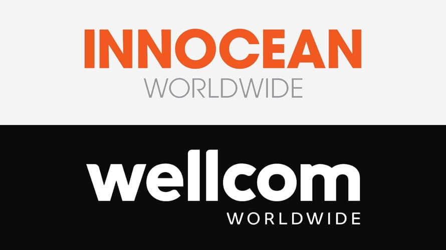 Innocean and Wellcom logos stacked