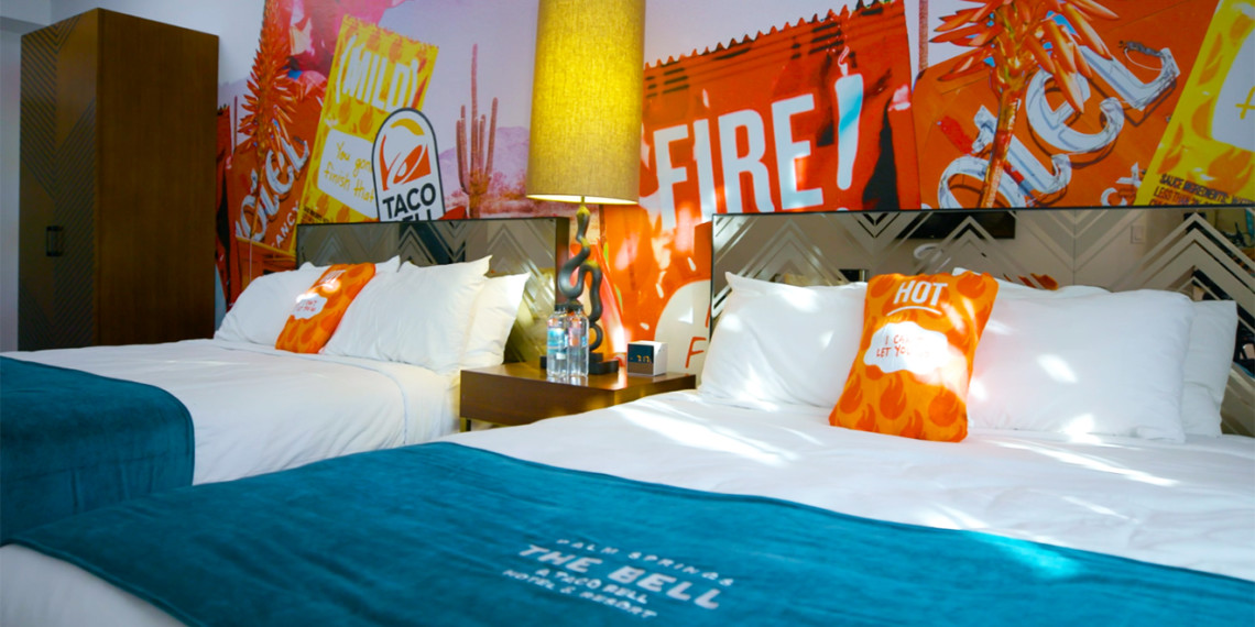 We Spent A Night At The Taco Bell Hotel Where Everything Is Supremely On Brand