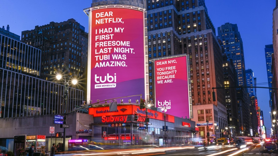 tubi billboard cheat on netflix