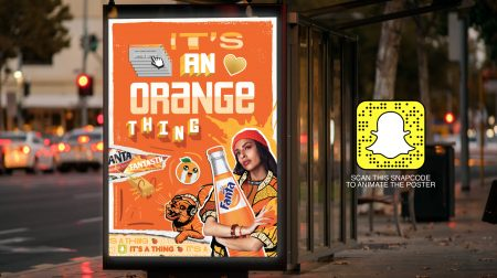 Fanta Taps Snapchat's Marker Tech AR Lenses for Its 'It's a