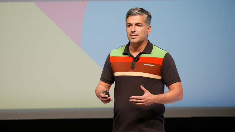 Fernando Machado, CMO of Burger King