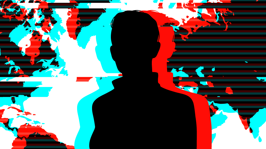 outline of person