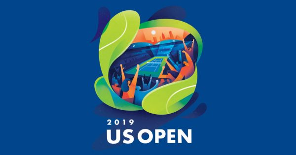 The Inspiration Behind the 2019 US Open's Bright and Bold Poster