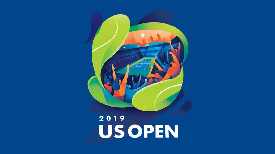 2019 us open poster sean loose