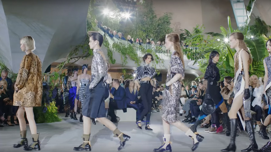 louis vuitton cruise show paris fashion week 2019