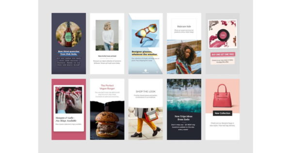 Customizable Templates Roll Out for Stories Ads on Facebook, Instagram, Messenger