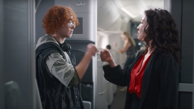 Canadian-American actress Sandra Oh is the star of Air Canada's latest campaign.