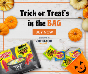 trick or treats in the bag ad for sour patch kids