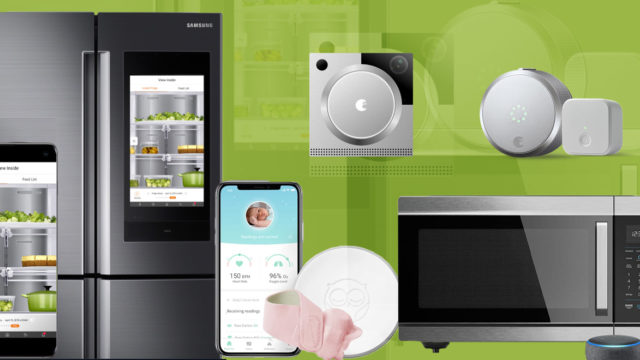 a collage of internet-connected devices