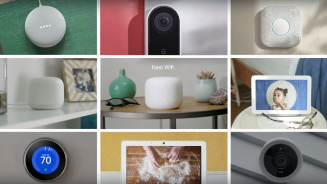 an array of new google hardware products