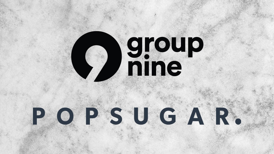 Group Nine and PopSugar logos