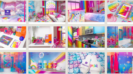 90s Style Icon Lisa Frank Brings Nostalgia To Travel With Rentable Dream Room