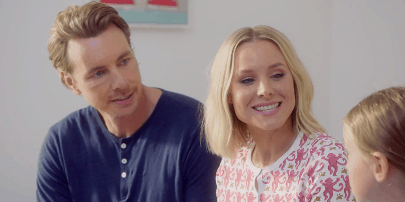 hollywood power couple dax shepard and kristen bell