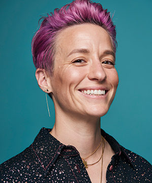 Photo of Megan Rapinoe