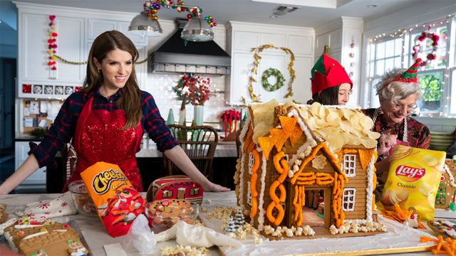 Anna Kendrick Is a Snack-tastic Triple Threat in Frito Lay's Fun First Holiday Ad
