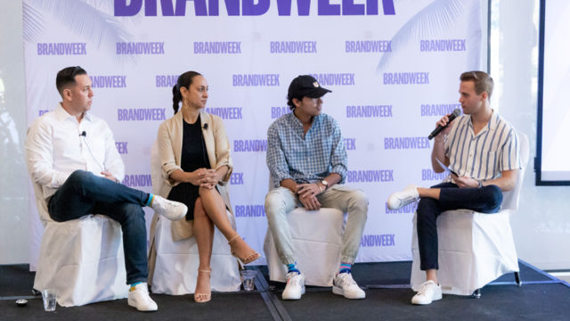 Harley Block, Khartoon Weiss, Swish Goswami, Nick Gardner at Brandweek