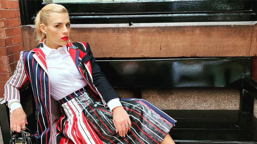 Portrait of Busy Philipps
