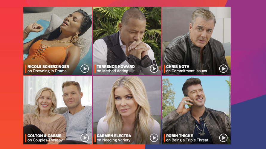 Nicole Sherzinger, Terrence Howard, Chris Noth, Colton & Cassie, Carmen Electra, Robin Thicke