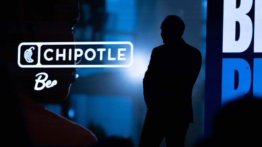 a chipotle sign
