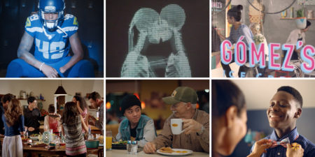 Collage of the 6 most culturally relevant ads
