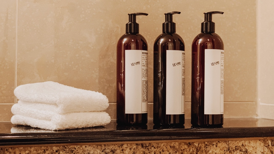 Hyatt toiletries